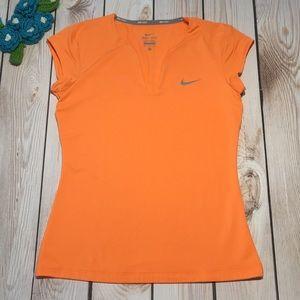 Nike Tennis women's dri-fit short sleeve top